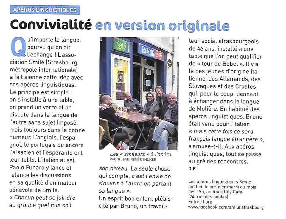 article Strasbourg magazine